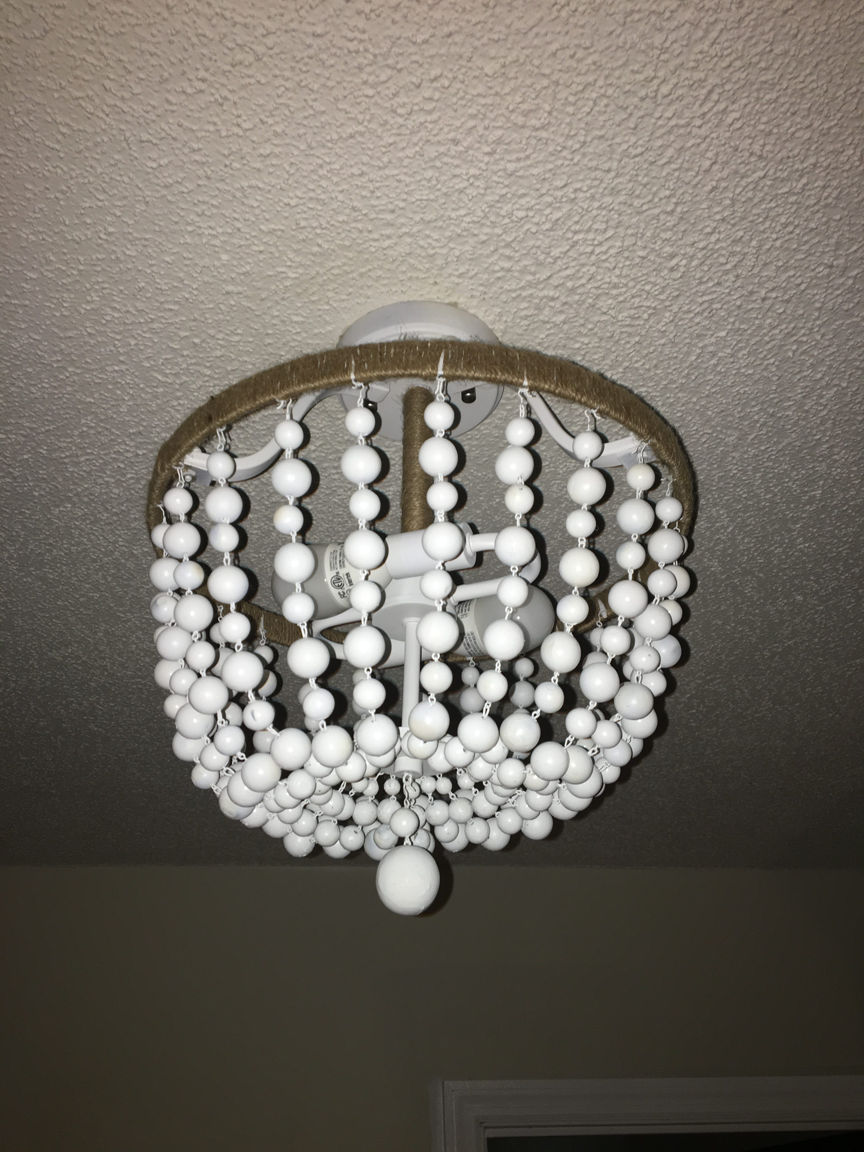 Diy Beaded Chandelier My Eclectic Grace